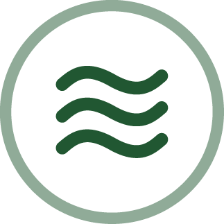 image of wavy lines - connection and purpose icon