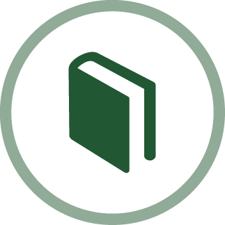 image of a book - love of learning icon