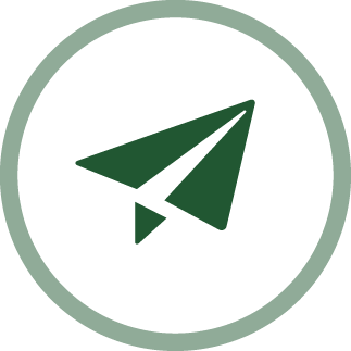 image of a paper airplane - open-mindedness icon